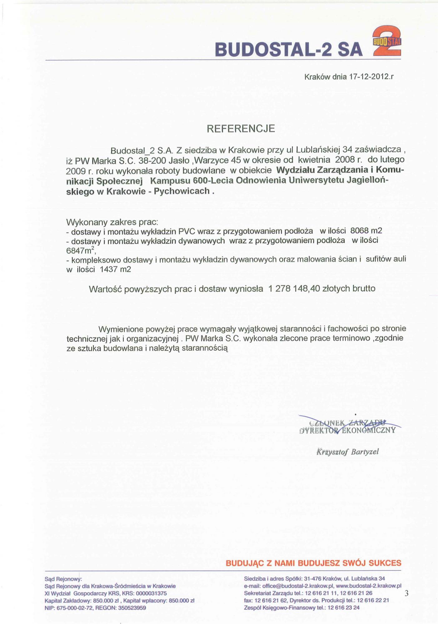 Referencje UJ Zarządzanie 2012